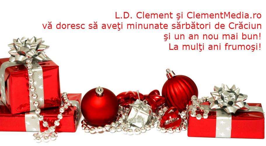 Urarea ClementMedia.ro pentru Crăciun şi pentru un 2015 mai bun
